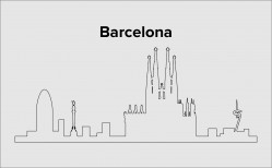 Skyline Barcelona Layout 7