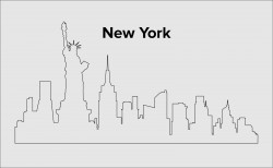Skyline New York Layout 6