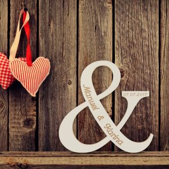 """Hochzeitsgeschenk """"Für immer Zusammen"""""""