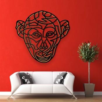 Schimpansenkopf