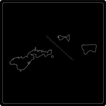 Silhouette Amerikanisch-Samoa