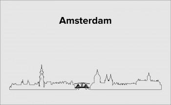 Skyline Amsterdam Layout 4