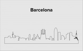 Skyline Barcelona Layout 2