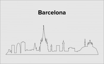 Skyline Barcelona Layout 3