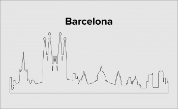 Skyline Barcelona Layout 4
