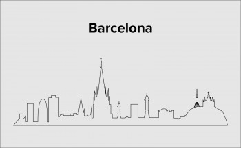 Skyline Barcelona Layout 5