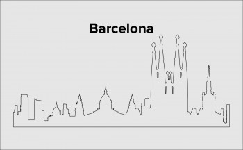 Skyline Barcelona Layout 6