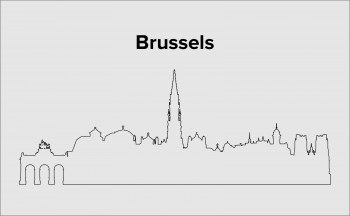 Skyline Brüssel Layout 3