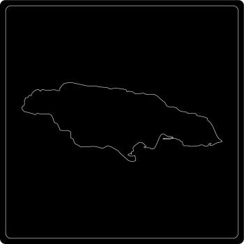 Silhouette Jamaika