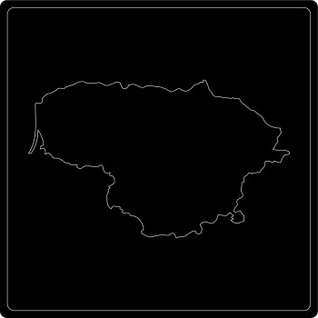 Silhouette Litauen