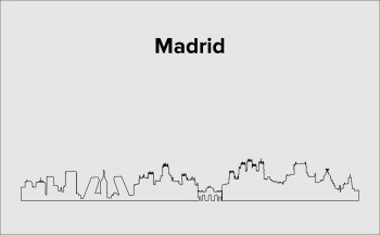 Skyline Madrid Layout 3