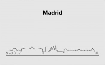 Skyline Madrid Layout 5