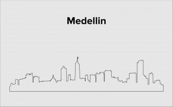 Skyline Medellin