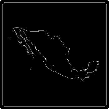 Silhouette Mexiko