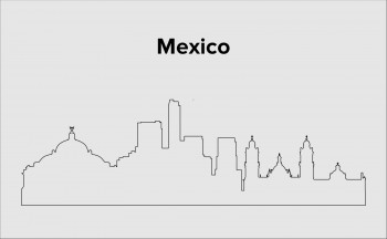 Skyline Mexico Stadt Layout 1