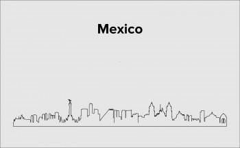Skyline Mexico Stadt Layout 2