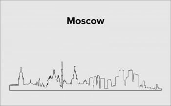Skyline Moskau Layout 1