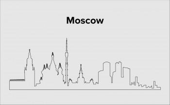 Skyline Moskau Layout 2