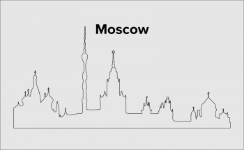Skyline Moskau Layout 3
