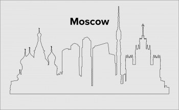 Skyline Moskau Layout 4