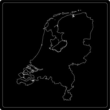Silhouette Niederlande