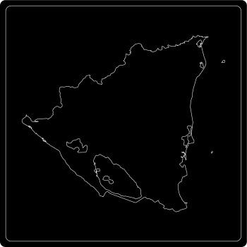 Silhouette Nicaragua