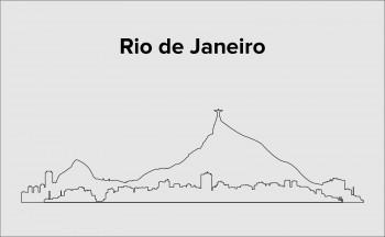Skyline Rio de Janeiro Layout 3