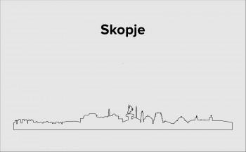 Skyline Skopje