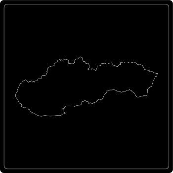Silhouette Slowakei