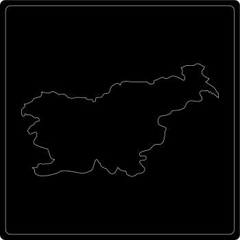 Silhouette Slowenien