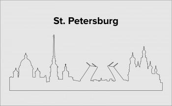 Skyline St. Petersburg Layout 4