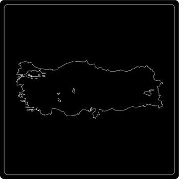 Silhouette Türkei