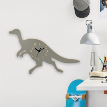 Wanduhr Echter Plateosaurus