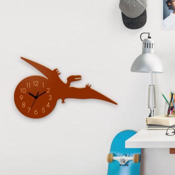 Wanduhr Kurzschwanzflugsaurier