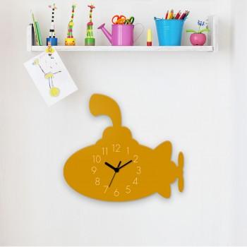 Wanduhr Yellow Submarine