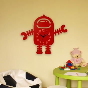 Wanduhr Roboter Spacy