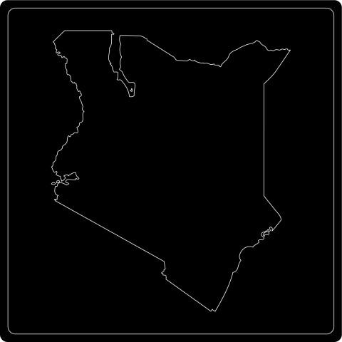 Silhouette Kenia