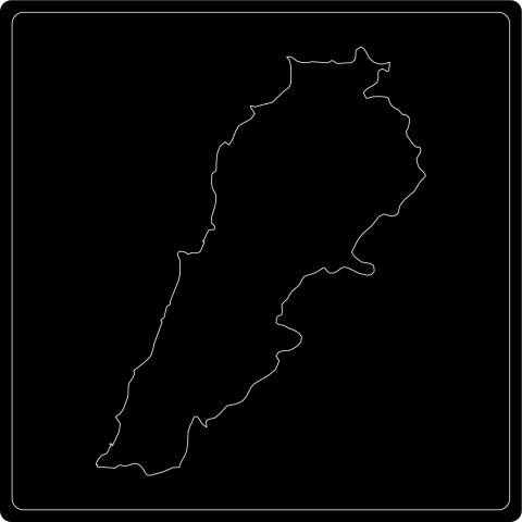 Silhouette Libanon