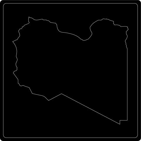 Silhouette Libyen