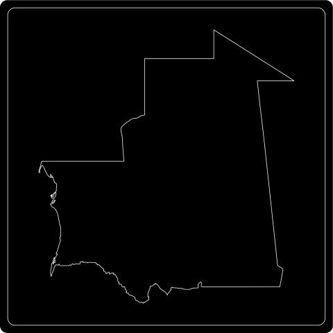 Silhouette Mauretanien