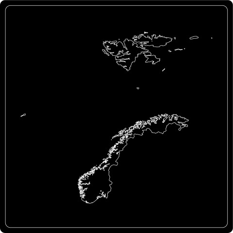 Silhouette Norwegen