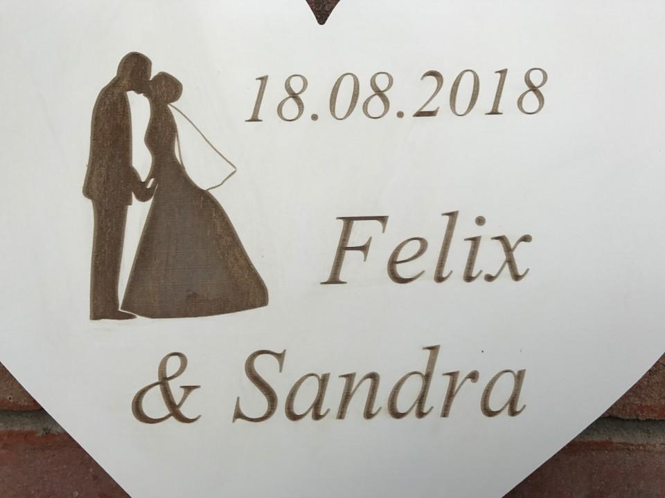 Hochzeitsgeschenk namen