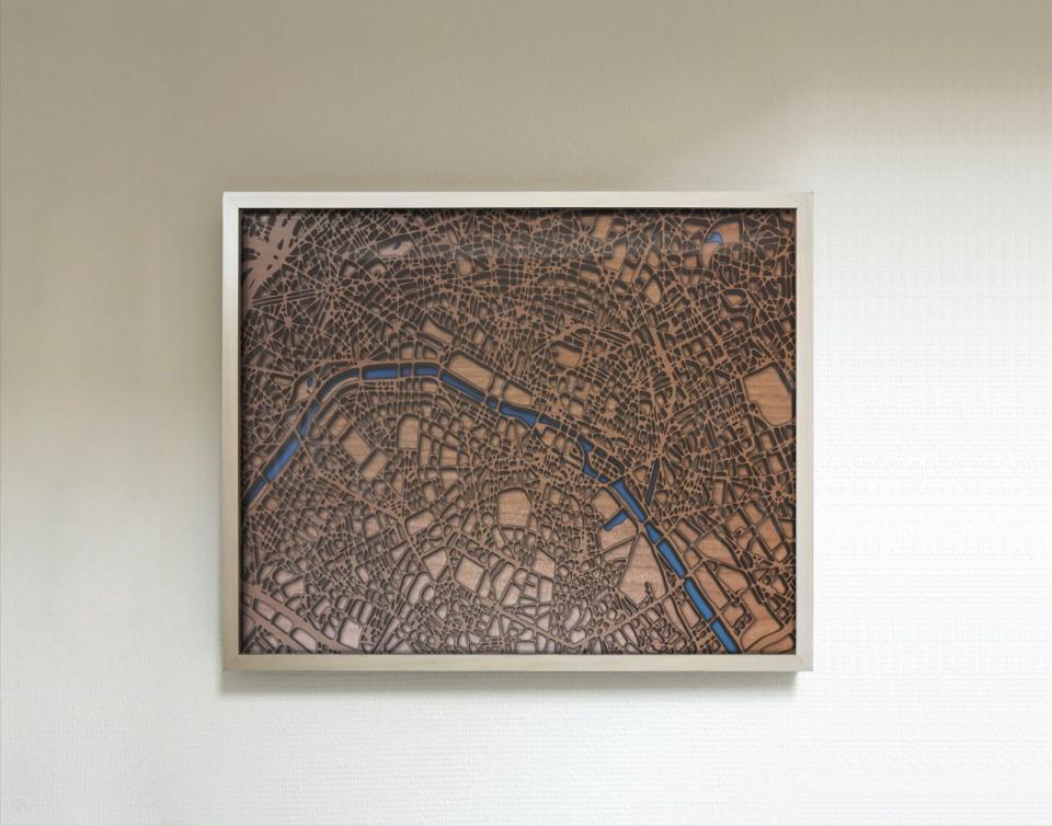 Groß Paris Gerahmte Kunst Galerie - Badspiegel Rahmen Ideen ...
